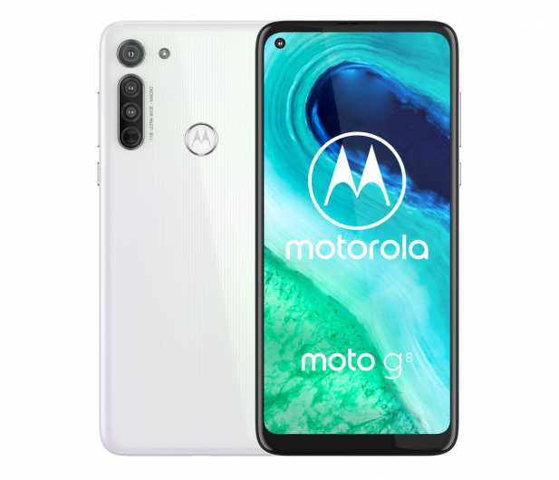 Motorola Moto G8 4/64GB Holo White + 64GB - 562022 - zdjęcie 2