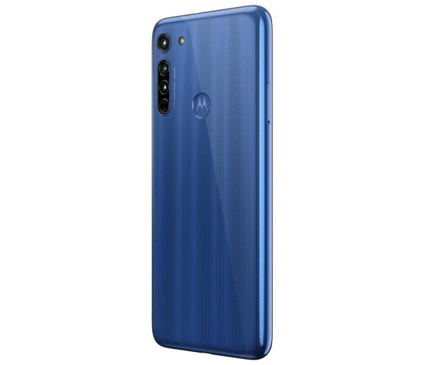 Motorola Moto G8 4/64GB Neon Blue + 64GB - 562023 - zdjęcie 6