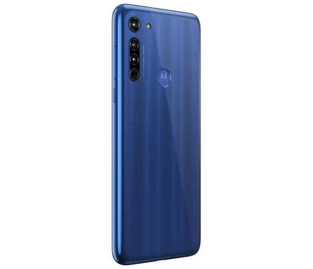 Motorola Moto G8 4/64GB Neon Blue - 560498 - zdjęcie 7