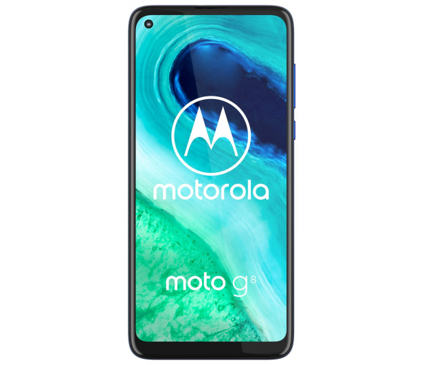 Motorola Moto G8 4/64GB Neon Blue - 560498 - zdjęcie 3