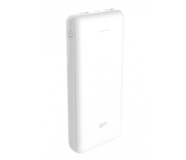Silicon Power Power Bank 20000mAh (micro USB, Lightning, biały) - 571981 - zdjęcie 3