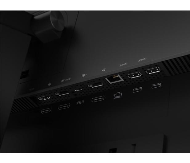 Lenovo ThinkVision P24h-20 czarny - 560824 - zdjęcie 9