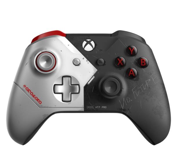 Microsoft Xbox One S Wireless Controller - CP2077 Ed. - 558059 - zdjęcie
