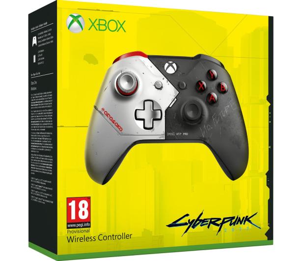 Microsoft Xbox One S Wireless Controller - CP2077 Ed. - 558059 - zdjęcie 5