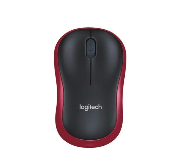 Logitech M185 czerwona - 69077 - zdjęcie