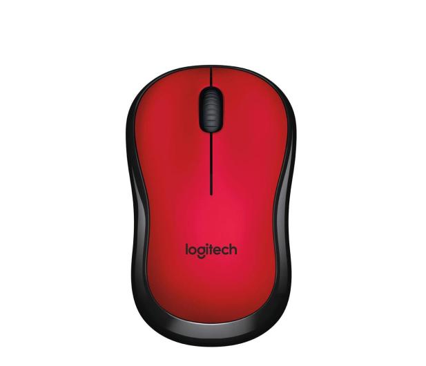 Logitech M220 Silent (czerwona)  - 329386 - zdjęcie