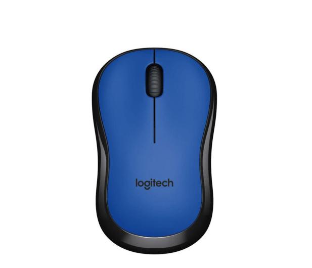 Logitech M220 Silent (niebieska)  - 329385 - zdjęcie