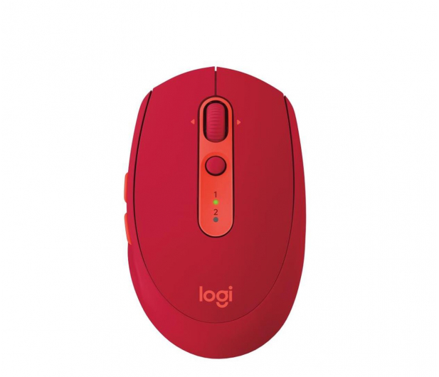 Logitech M590 Multi Device Silent rubinowy - 372044 - zdjęcie