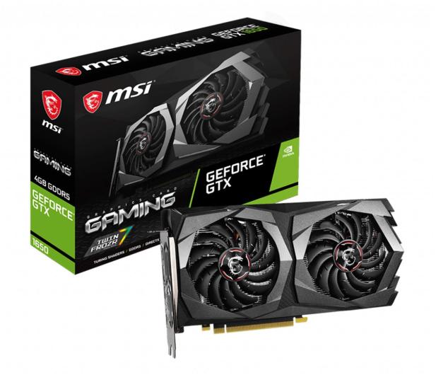 MSI GeForce GTX 1650 GAMING 4G GDDR5 - 561468 - zdjęcie