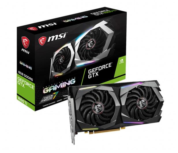MSI GeForce GTX 1660 Ti GAMING 6G GDDR6 - 561471 - zdjęcie