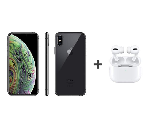 Apple iPhone Xs 64GB Space Gray + Airpods Pro - 562301 - zdjęcie
