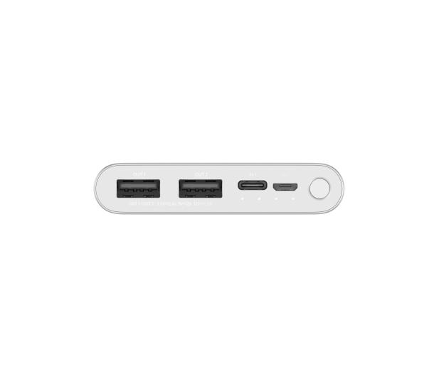 Xiaomi Power Bank Xiaomi Mi 10000 mah (18W, srebrny) - 550913 - zdjęcie 4