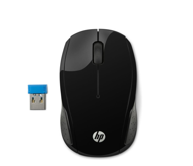 HP Wireless Mouse 200 Black - 373154 - zdjęcie
