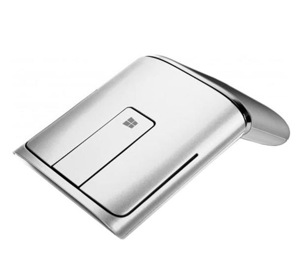Lenovo N700 Touch Mouse (srebrny, wskaźnik laserowy) - 473106 - zdjęcie