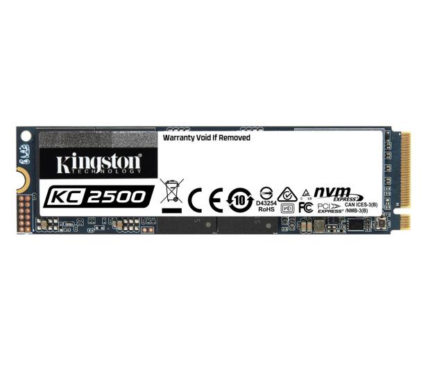 Kingston 1TB M.2 PCIe NVMe KC2500 - 563133 - zdjęcie