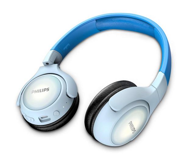 Philips TAKH402 Niebieskie - 561450 - zdjęcie 3