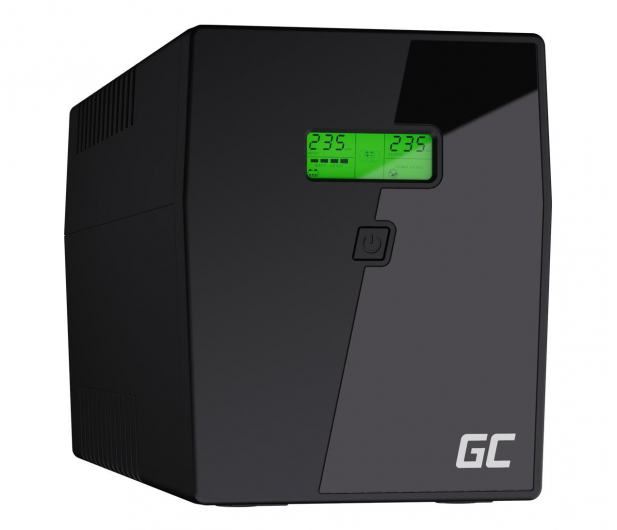 Green Cell UPS (1500VA/900W,  4x Schuko, AVR, LCD) - 546065 - zdjęcie