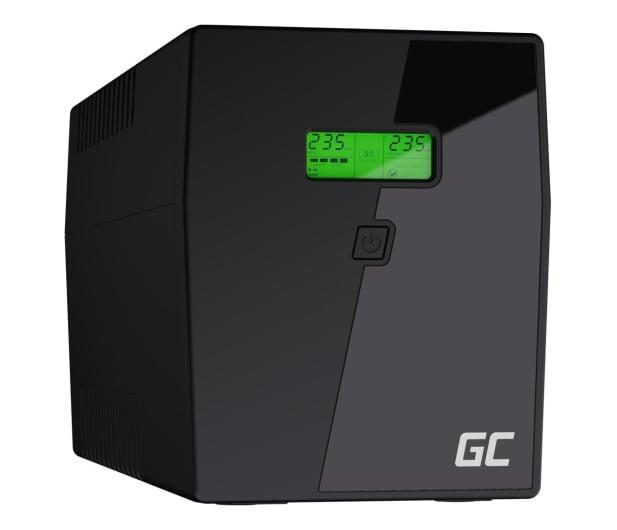Green Cell UPS (2000VA/1200W,  4x Schuko, AVR, LCD) - 546066 - zdjęcie