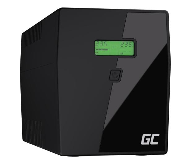 Green Cell UPS (2000VA/1400W, 3x IEC, 2x Schuko, AVR, LCD) - 546083 - zdjęcie