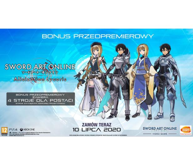Xbox Sword Art Online Alicization Lycoris - 554800 - zdjęcie 3
