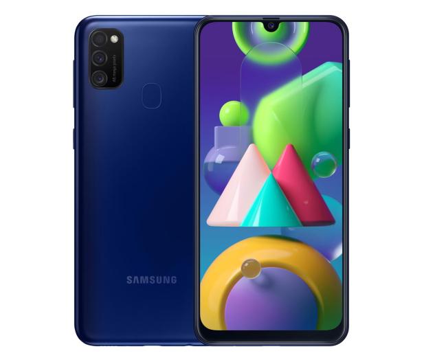 Samsung Galaxy M21 SM-M215F Blue - 557640 - zdjęcie