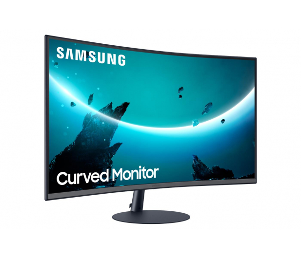 Samsung C32T550FDUX Curved - 563215 - zdjęcie 3