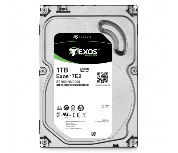 Seagate EXOS 1TB 7200obr. 128MB - 465731 - zdjęcie 3