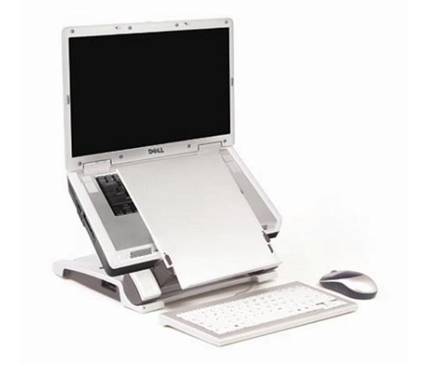"Targus Ergo D-Pro Laptop Stand (12 do 17"", srebrna) - 556173 - zdjęcie 3"
