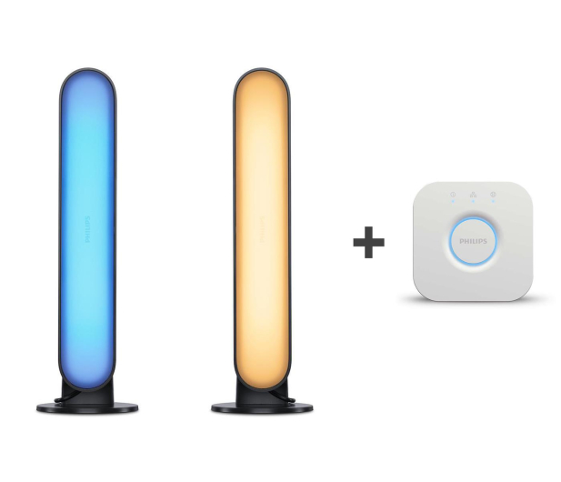 Philips Hue White and Color Ambiance (2szt. Play+Mostek) - 556504 - zdjęcie