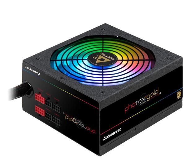 Chieftec Photon RGB 650W 80 Plus Gold - 556552 - zdjęcie