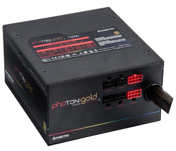 Chieftec Photon RGB 750W 80 Plus Gold - 556554 - zdjęcie 3