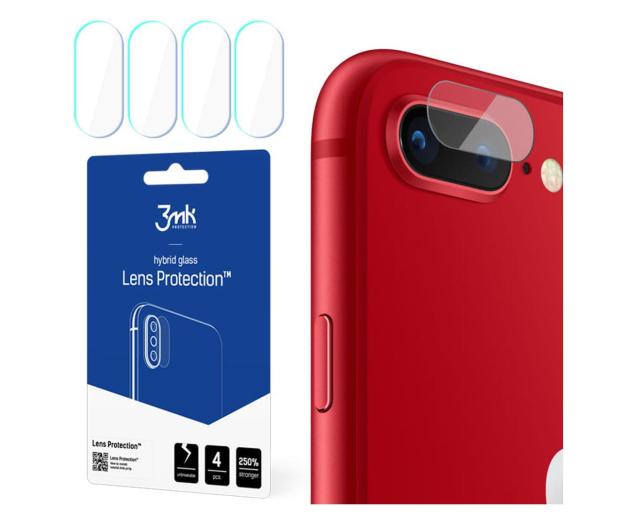 3mk Lens Protection na Obiektyw do iPhone 7/8 Plus - 556377 - zdjęcie