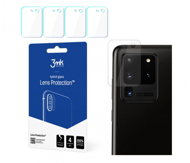 3mk Lens Protection na Obiektyw do Galaxy S20 Ultra - 556371 - zdjęcie