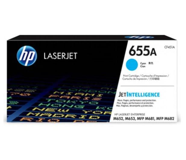 HP 655A cyan 10500str. - 557365 - zdjęcie