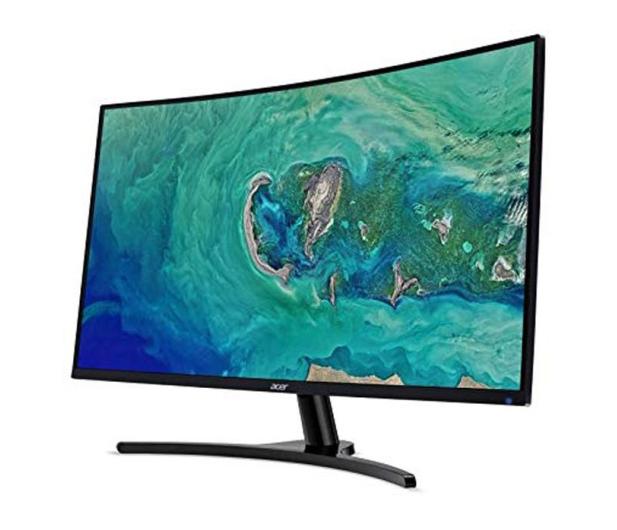 Acer ED322QRPBMIIPX Curved czarny - 557012 - zdjęcie 2
