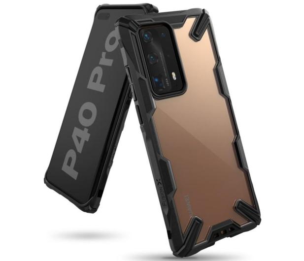 Ringke Fusion X do Huawei P40 Pro czarny - 557926 - zdjęcie 2