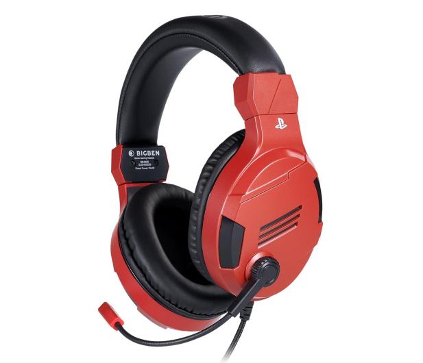 BigBen PS4 Słuchawki do konsoli - Red - 557095 - zdjęcie