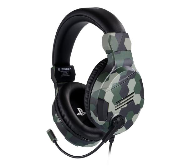 BigBen PS4 Słuchawki do konsoli - Camo Green - 557093 - zdjęcie