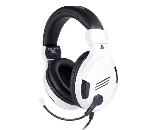 BigBen PS4 Słuchawki do konsoli - White - 557092 - zdjęcie
