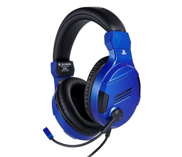 BigBen PS4 Słuchawki do konsoli - Blue - 557099 - zdjęcie