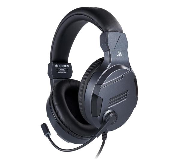 BigBen PS4 Słuchawki do konsoli - Titanium - 557097 - zdjęcie