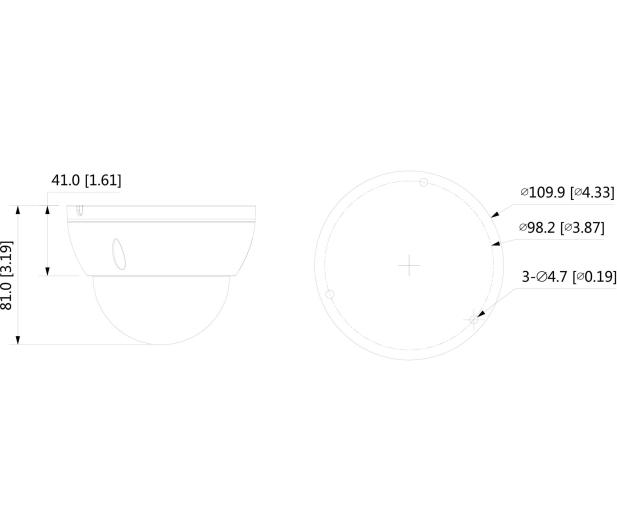Dahua IPC 2MP 2,8mm IR 30m IP67 DC12V PoE  - 551763 - zdjęcie 2