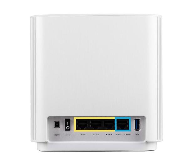 ASUS ZenWiFi AX (6600Mb/s a/b/g/n/ac/ax) zestaw 2szt. - 557998 - zdjęcie 3