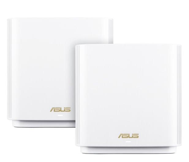 ASUS ZenWiFi AX (6600Mb/s a/b/g/n/ac/ax) zestaw 2szt. - 557998 - zdjęcie