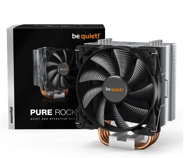 be quiet! Pure Rock 2  Srebrny 120mm  - 565207 - zdjęcie