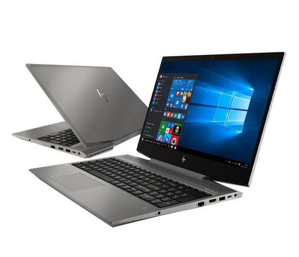 HP ZBook 15v G5 i7-8750H/16GB/256/Win10P Quadro P600 - 548587 - zdjęcie