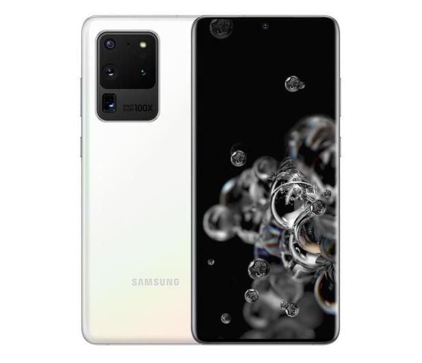 Samsung Galaxy S20 Ultra G988F Dual SIM Cosmic White 5G - 565836 - zdjęcie