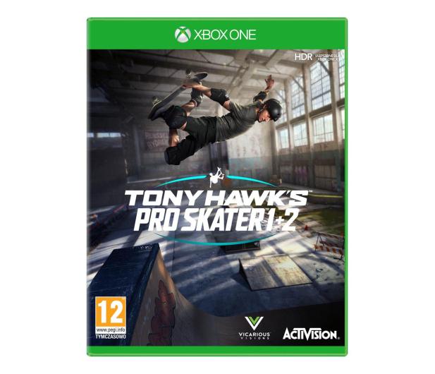 Xbox Tony Hawk's Pro Skater 1 + 2 - 566441 - zdjęcie