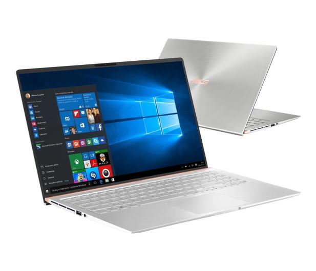 ASUS ZenBook 15 UX533FAC i5-10210U/8GB/512/W10 Silver - 543063 - zdjęcie