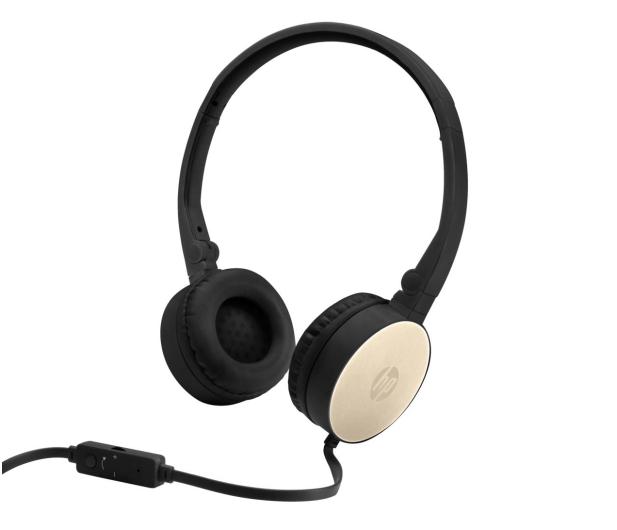 HP H2800 Stereo Headset (Złote) - 481390 - zdjęcie